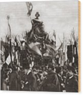 World War I Monument Wood Print