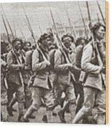 World War I Paris, C1917 Wood Print