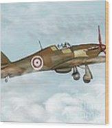 world war II plane Wood Print