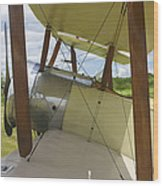 World War One Classic 1916 Sopwith Pup Biplane Wood Print