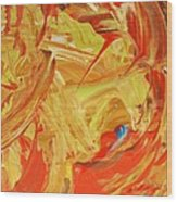 World Wide Abstract Wood Print