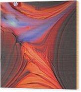 Worlds Away Wood Print by Kimberly Lyon