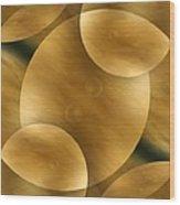 Worlds Collide 10 Wood Print