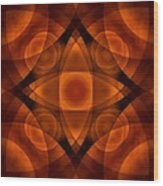Worlds Collide 15 Wood Print