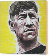 Worlds Greatest Athlete Wood Print by Chris Mackie