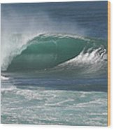 World's Most Perfect Wave . . . Wood Print