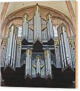 Worms Cathedral Organ Wood Print