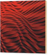 Woven Wave Wood Print