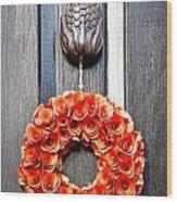 Wreath 31 Wood Print