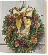 Wreath 32 Wood Print