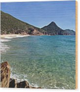 Wreck Beach Shoal Bay Port Stephens Wood Print