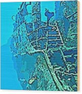Wreck Diving Make The Discovery Wood Print