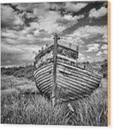 Wreck Wood Print