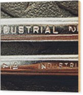 Wrench Handles Wood Print