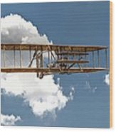 Wright Brothers First Flight Wood Print