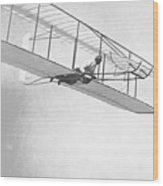 Wright Brothers' Glider Wood Print