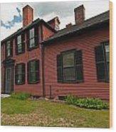Wright's Tavern - Concord Wood Print