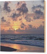 Wrightsville Beach Sunrise Wood Print