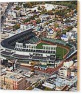 Wrigley Field Chicago Sports 01 Wood Print