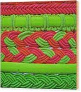 Wristbands Wood Print