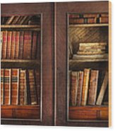 Writer - Books - The Book Cabinet  Wood Print