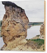 Writing-on-stone Provincial Parks Wood Print