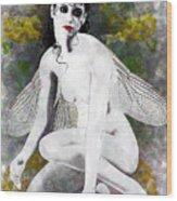 Wrong Fairy Love  Wood Print