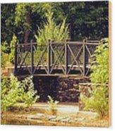 Wrought Iron Bridge Wood Print