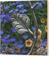 Wrought Iron Garden Wood Print