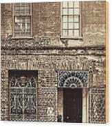 Wrought Iron Gates Wood Print
