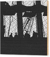 Wtc Dark Shadows Wood Print