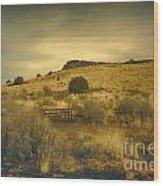 Wupatki National Monument-bench Wood Print