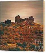 Wupatki National Monument-ruins V13 Wood Print
