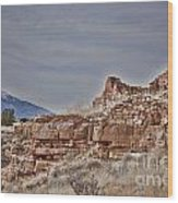Wupatki National Monument-ruins V15 Wood Print