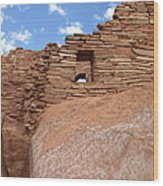 Wupatki Pueblo Ruin Wood Print