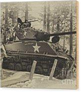 Ww II Battle Of The Bulge 02 Wood Print