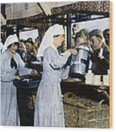 Ww1: Red Cross, 1918 Wood Print
