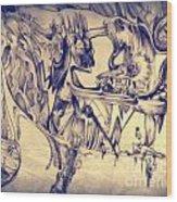 WW3 Wood Print