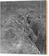 Wwi Black Troops, 1918 Wood Print