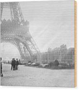 Wwi Eiffel Tower, C1914 Wood Print