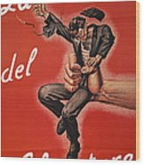 Wwii: Italian Poster, 1944 Wood Print by Granger