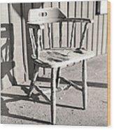Wylie's Chair Wood Print