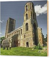 Wymondham Abbey  Wood Print