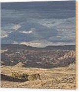 Wyoming Hills Wood Print