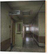 X Ray Waiting Room. Wood Print