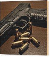Springfield Armory Xdm-40 Wood Print