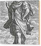 Xenophon Of Athens, Ancient Greek Wood Print