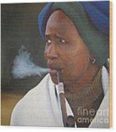 Xhosa Woman Wood Print