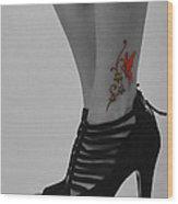 Xim Tattoo Wood Print