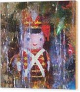 Xmas Soldier Ornament Photo Art 02 Wood Print